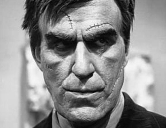 The grotesque villain, Jonathan Brewster.