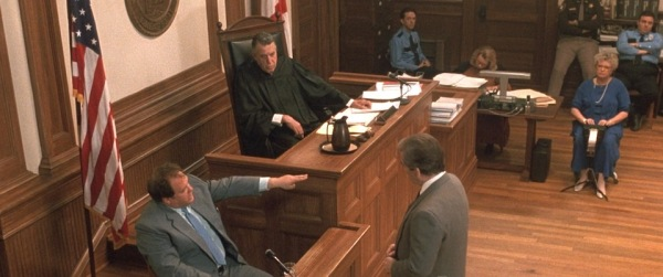 As Judge Chamberlain Haller in 'My Cousin Vinny'.