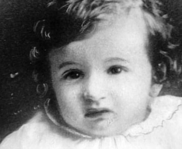 Baby Albert Meister.