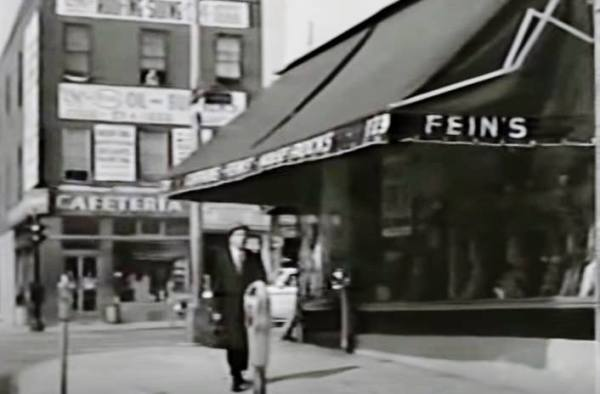 Home Sweet Sing Sing -- 1961 -- with the great Gene Baylos. Here's Bennie the Bookie crossing Tremont Ave at Clinton and the same corner recently.