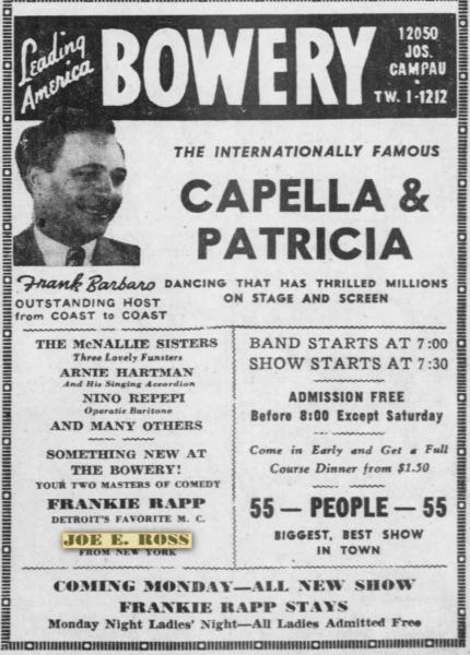 Detroit - March 1945.