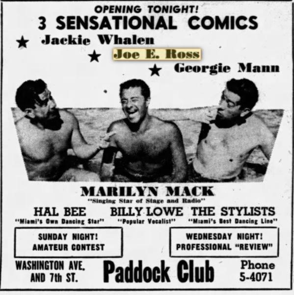 Miami - May 23 1946.
