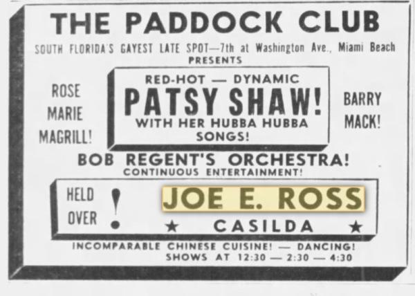 Paddock club!