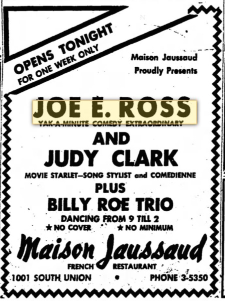 Bakersfield, California - 28 October 1952.