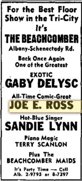 Troy, New York - November 1955 - The Beachcomber.