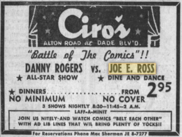 1956 - Battle of the Comics!