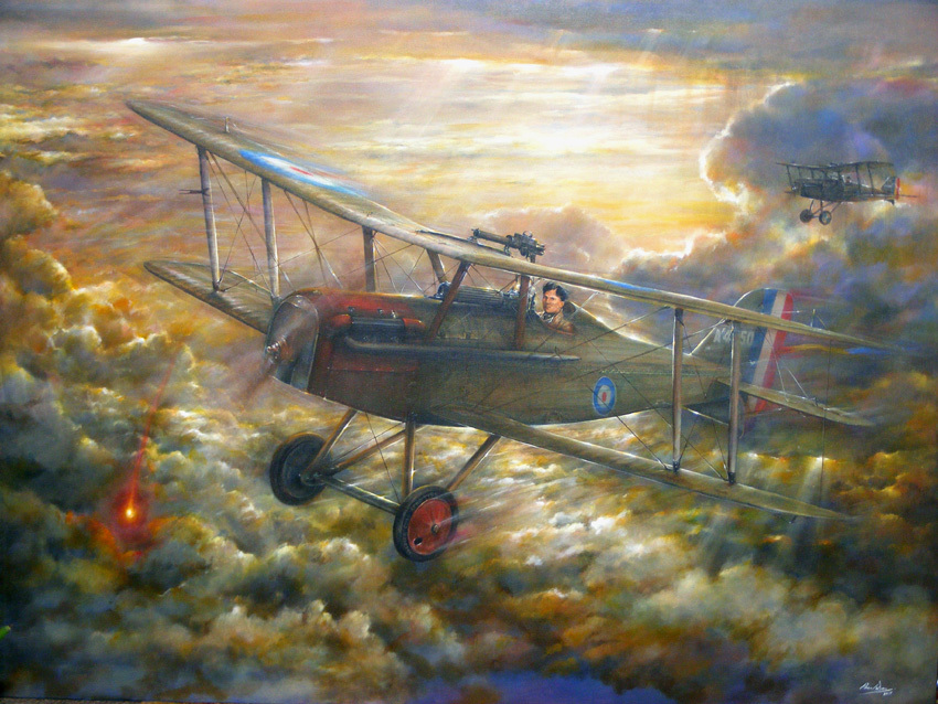 The Fading of the Light - Professional art by Paul Dove. Click the picture to find the link to his excellent site