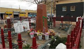 Sadly in the mid 1980s the A & P became the Happy Land night club that was the sight of a ghastly arson that killed nearly 100 persons in 1990. Now, directly across from the site of the tragedy is a memorial to the perished.