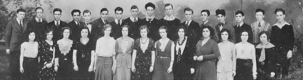 Washington High School 1931: Nat back row, 3rd from the right.