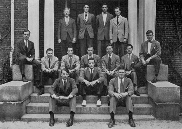 Groton School 1944. Middle of the picture.