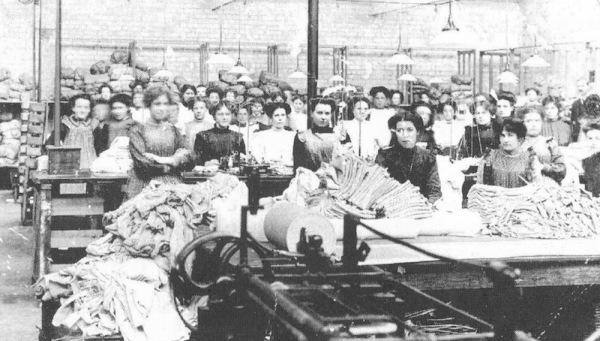 Some of the Coggan workforce.