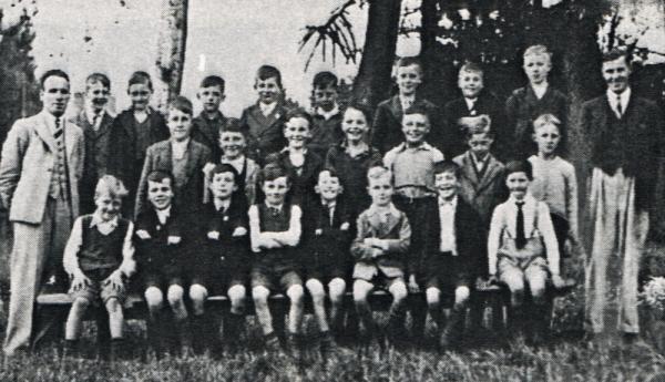 Labray School Junior class 1939