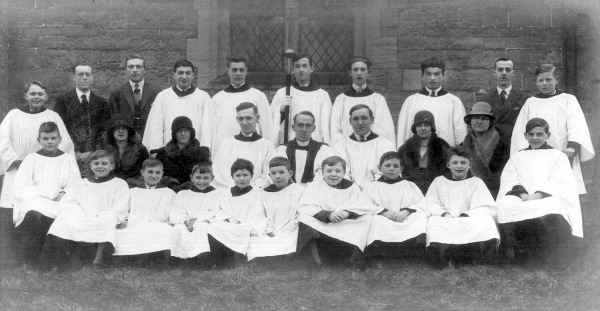 St Wilfrid's Church Choir (circa 1930)