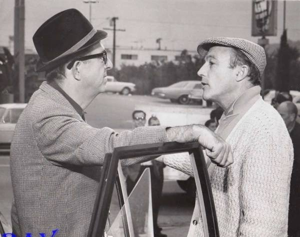 A Guide for the Married Man (1967) Director Gene Kelly with Phil onset....