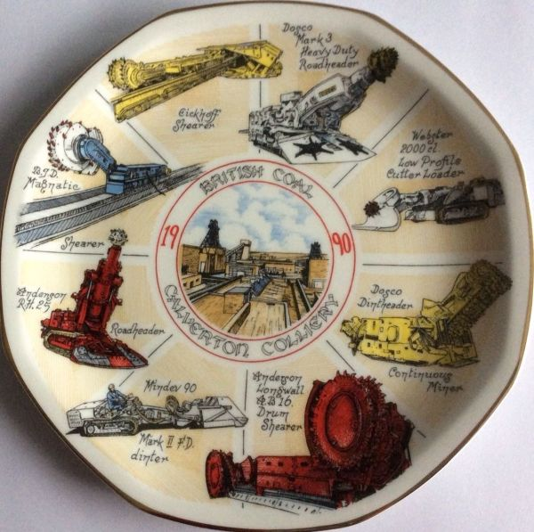 1990 commemorative plate.
