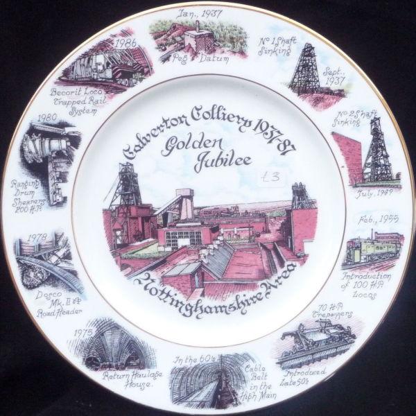 Golden Jubilee commemorative plate.