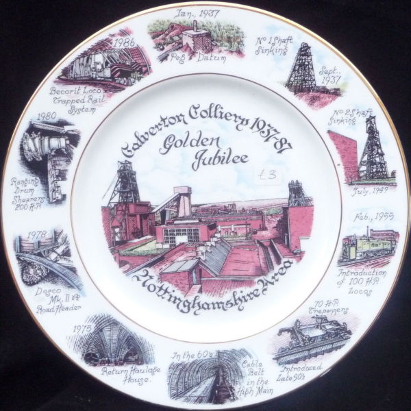 Golden Jubilee commemorative plate.