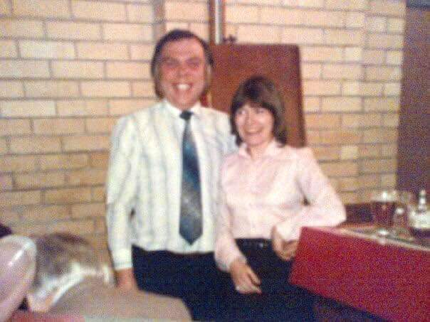 Alan and his missus (Former landlord at Top Club)
