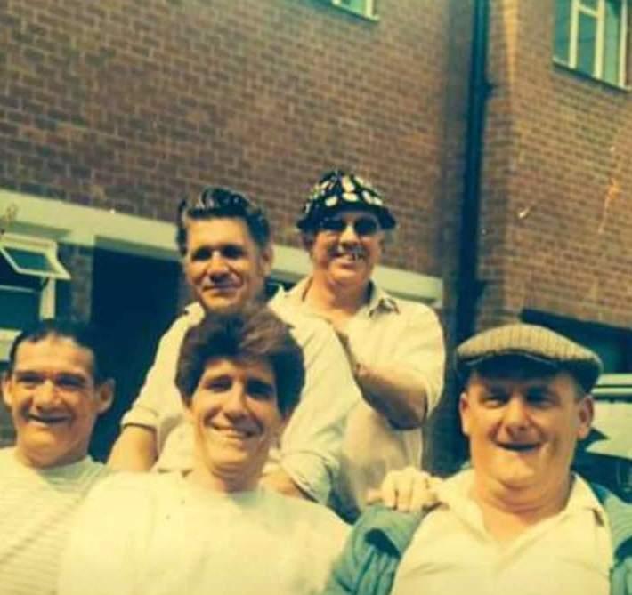 Wilf Allwood, George Barkham, Frank Naisbitt, Frank Marshall and Sid Shutt!