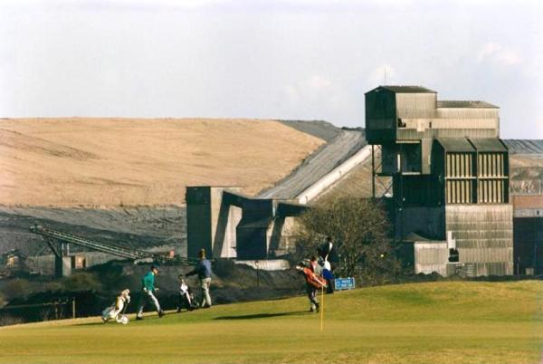 Ramsdale Golf course now on the scene...