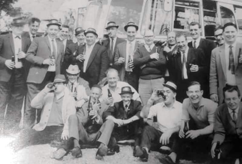 Jolly Boys original outing (with Arthur Thompson, Ken Rhodes, Nobby Watson)