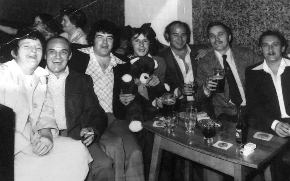 Hughie Bell, Terry Thompson, Dave Emerson......amongst others