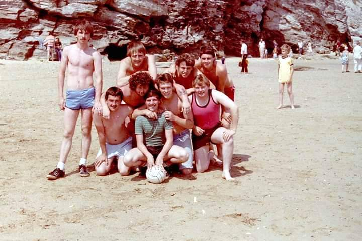 By the sea. Graham Miller,  Dave Smith, Alistair Berry, Steve Kopryko and others...