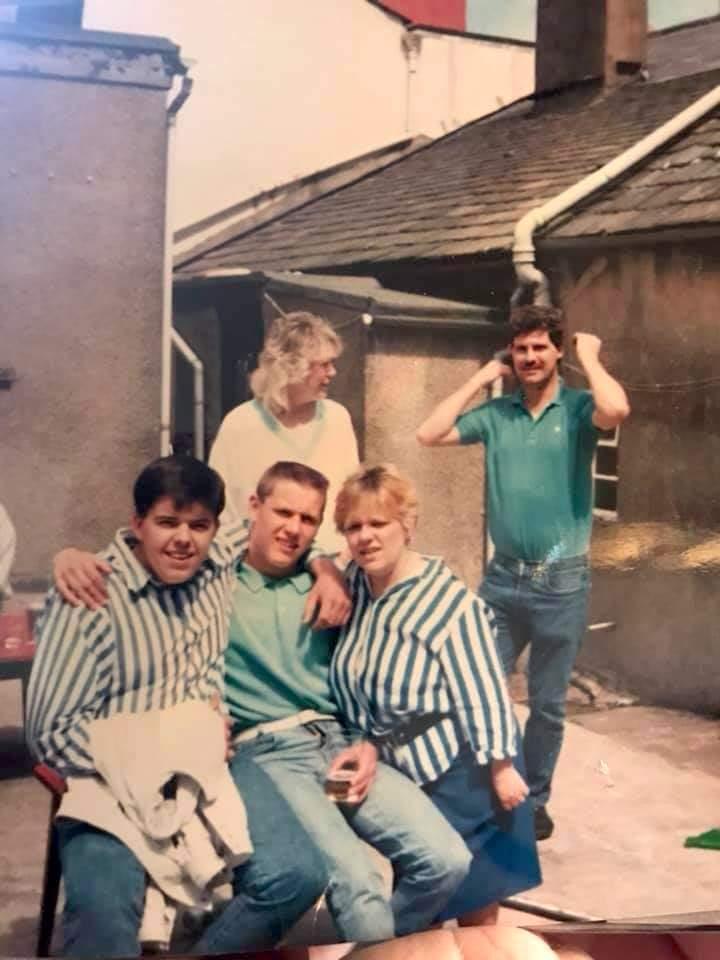 Paul Hunter, Colleen Pettit, Paul Brown, Elaine Hutchinson