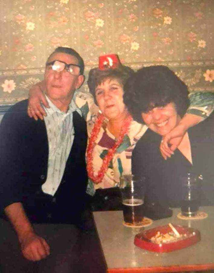 Bill, Mags and Sharon Brearley