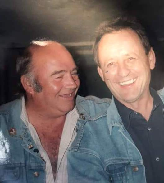 Terry Thompson with Mick!