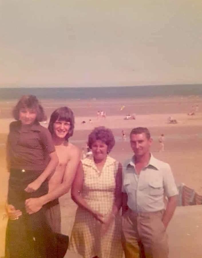 Moss family at sea!