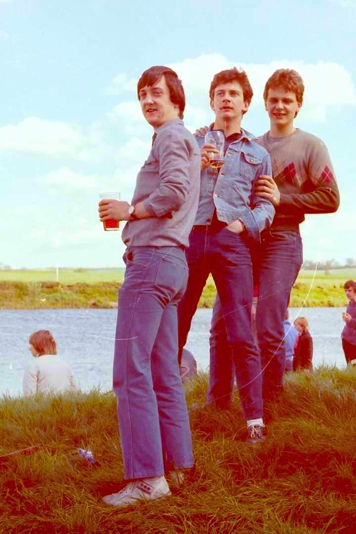 Dave Macadam, Bob Henson and Martin Bettison....