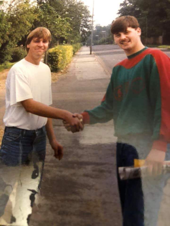 Darren Money and Dave Atkin