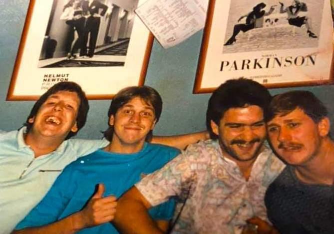 Phil McGrory, Darren Money, Martin Davis and Alan 'Soggy' Sewell!