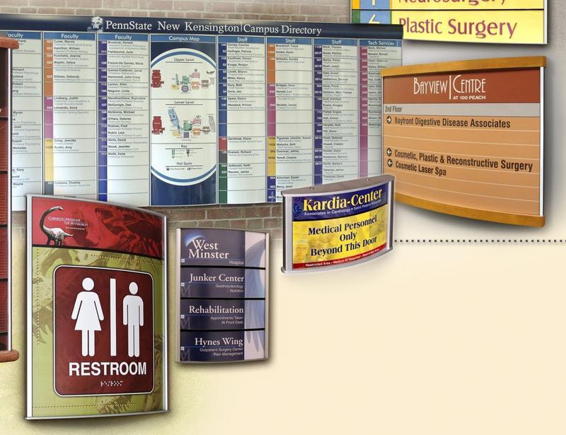 Interior Directory Signs