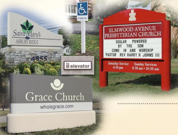Churches and Worship Center Signs