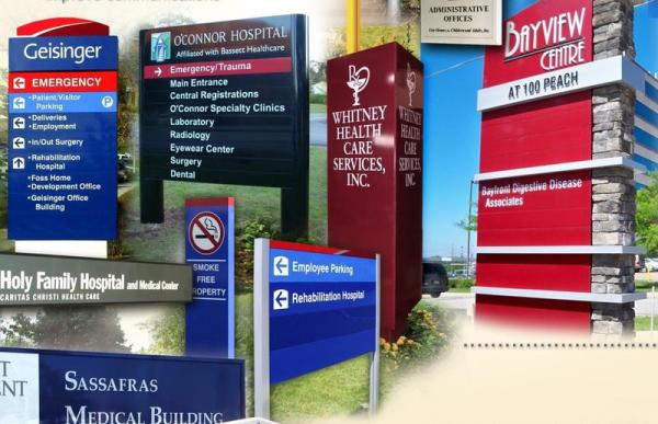 Hospitals and Medical Center Signs
