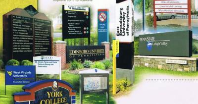 Signs for University and College Campuses
