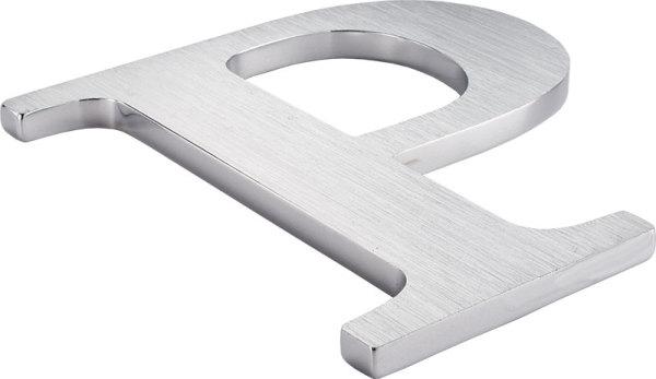flat cut metal letter