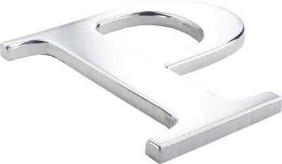 Flat Cut Metal Letters