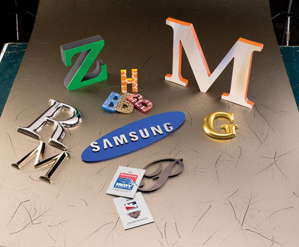 Custom Made Letters
