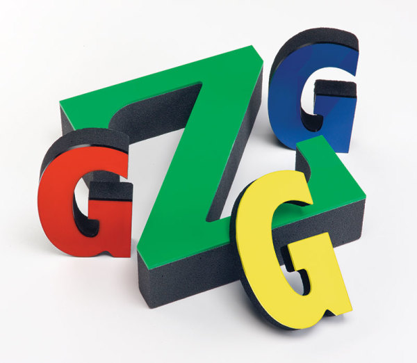 Custom Made Display Letters