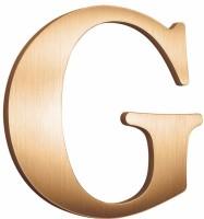 Flat Cut Metal Letter G