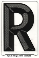 Changeable Copy Letter Black
