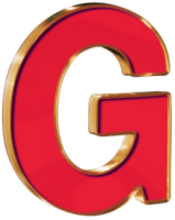 Trim Plastic Letter G