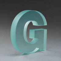Acrylic Dimensional Letter G
