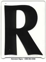 Optima Copy Letter R