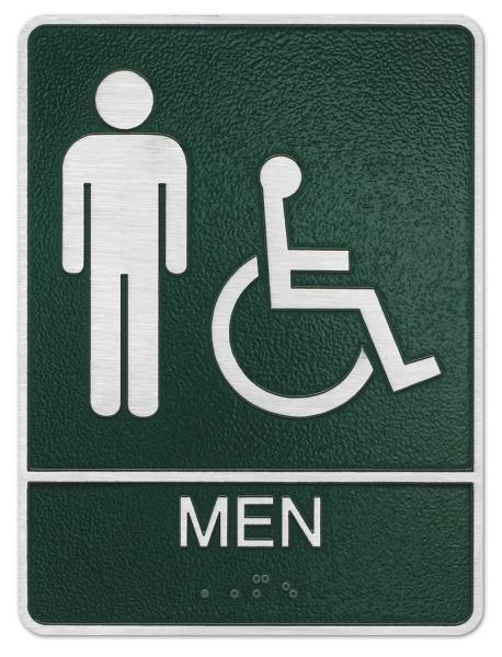 Men and Handicap Plaque