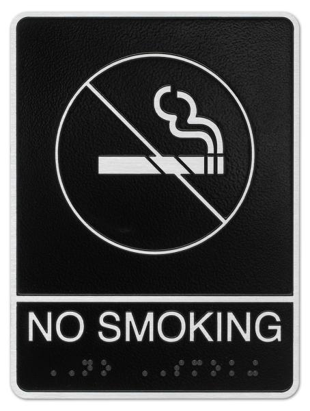 No Smoking ADA Plaque