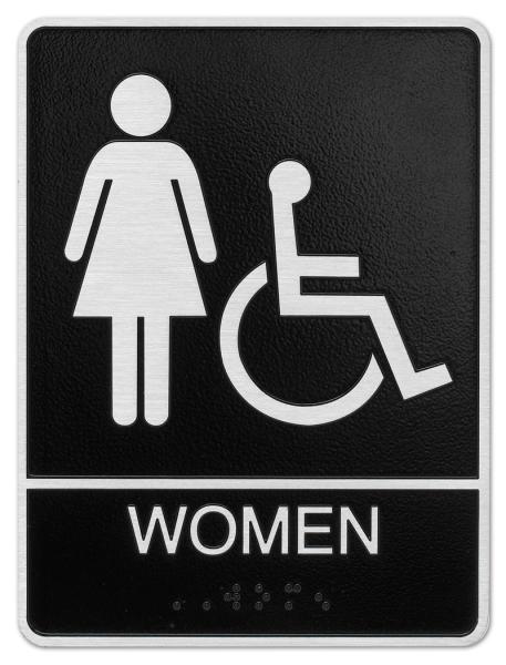Women and Handicap Plaque